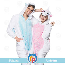 16a5f472bf Wholesale Hot Unicorn Clothes Flannel Pajamas Couple for Men and Women