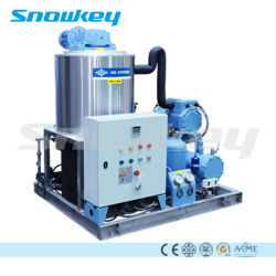 Snowkey Fast Cooling Slurry Ice Machine for Fishery on Boat or on Land