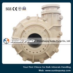 Single Stage End Suction Horizontal High Pressure Centrifugal Slurry Pump Zgb