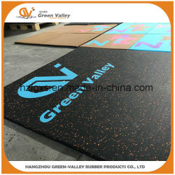 1mx1m Anti-Shock Rubber Mats Rubber Flooring Tile for Wholesale