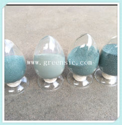 Macro Grit Green Silicon Carbide F100 as Abrader Raw Materials