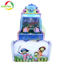 Indoor Sports Coin Electronic Redemption Video Simulator Games Water Shooting Game Machine