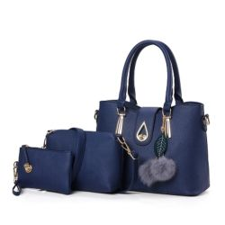Whole New Fashion Leather Bag Set Handbags Lady Handbag