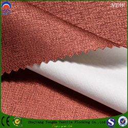 Woven Fabric Polyester Fabric Waterproof Fr Coating Blackout Fabric for Curtain and Chair Cover