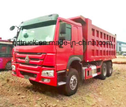 Good Condition Used HOWO 10 Wheels Dump Truck Tipper 6X4 for Africa
