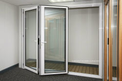 Backyard Exterior Foldback External Patio Aluminium Bifold Doors