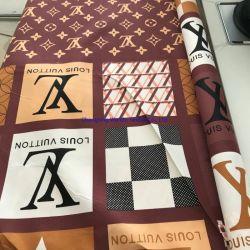 100% Polyester Brand Print Design Printed Microfiber Bed Fabric