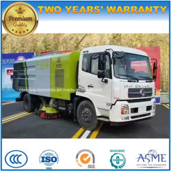 Dongfeng 4X2 Pavement Suction Vehicle 9 Cbm Vacuum Road Sweeper Truck