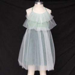Costumes Wedding Party Girls Kids Children Princess Summer Tulle Gown White  Chiffon Dress 564c09f1ec50
