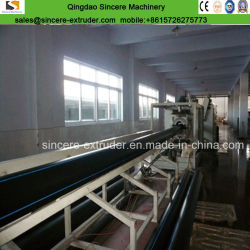 HDPE/PE/PVC Gas/Water Supply Plastic Pipe Extruder Extrusion Line Production Machine