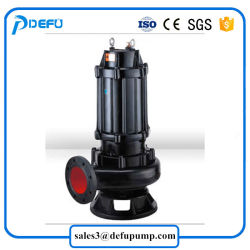 Stainless Steel Submersible Slurry Cutter Pump for Big Particle