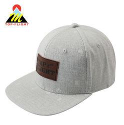 3321888f3f9 Custom Leather Patch Cap Fashion Snapback Hat