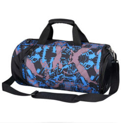 Fashion Durable Unisex Waterproof Sports Training Gym Duffle Shoulder Bag