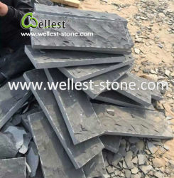 Rough Hainan Grey Basalt Tile, Blue Stone Other Sawn Cut for Floor and Wall