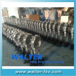Distributor Handwheel Operated Knife Gate Valve for Slurry