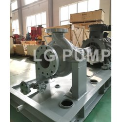 API610 Standard Oh2 Horizontal Centrifugal Chemical Fuel Oil Pump