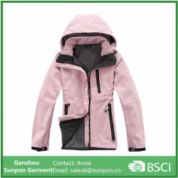 Women Camping Hiking Sport Hooded Jackets Fleece Hunting Clothes