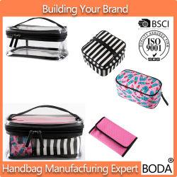 df76e5d708 2017 Wholesale Women Waterproof Makeup Cases PVC Cosmetic Bag 4 PCS Set  (BDY-1706018
