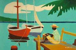 100 Handmade Cartoon Oil Painting On Canvas ECT 065