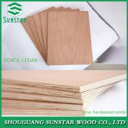 Teak/Okoume/Keruing/Walnut/Ash/Oak/Birch/Beech/Sapeli/Pencilcedar/Maple/Bintangor Hardwood Poplar Veneer Faced Commercial Plywood Sheet for Furniture