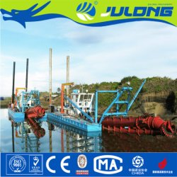10'' River Sand Cutter Suction Dredger for Sale