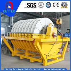 Tg Rotary Filter Drum with Porous Ceramic Plate and Vacuum Filtering System for Slurry Ore
