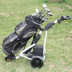 Factory Wholesale Three Wheel Electric Golf Caddy Folding (DG12150-B)