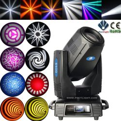 Hybrid 17r 350W Spot Beam Wash Moving Head Light with Philips Bulb and Linear Zoom