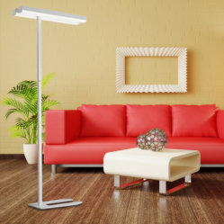 CE/RoHS/SAA Approved Die-Casting Aluminum 30W LED Floor Lamp