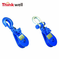 Wholesale Forged Steel Pulley with Heavy Duty Hook