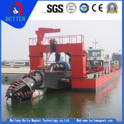1500m3 Pump Capacity ISO/Ce Approved Cutter Suction Pumping/Dredger for Reservior/Gold/Sliver/Port