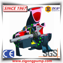 Horizontal Paper Making Chemical Centrifugal Slurry Pulp Pump