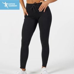 Cotton Spandex Sweat Track Pants Women Workout Fitness Sports Apparel Supplier