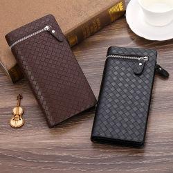 Creative Zip Purse Business PU Carry Bag Men's Wallet Clutchbag Mobile Phone Purse
