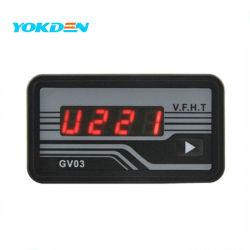 Gv03 AC LED Display Voltmeter Hour Meter