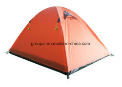 Double Layer Camping Tent for 2-3 Persons Water Proof