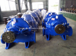 Flood Control Big Flow Diesel Engine Split Case Centrifugal Pump