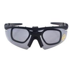 3 Durable PC Lens Flexible Lightweight Tr90 Sunglasses Military Bullet Proof Shooting Glasses for Mens
