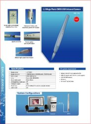 Wire USB Dental Camera Oral Camera Compatible with Eaglesoft