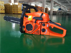 Hen-Tian 2 Stoke Gasoline Chainsaw with Nice Design 45cc Chain Saw