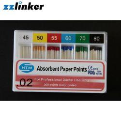 Lk-R21 CE FDA 2% Dental Absorbent Paper Points