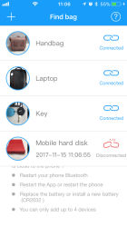 Valentine's Gift Ideas for Her - Bluetooth Tracker for Mobile Phone with Free Application