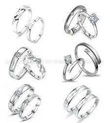 Custom Hot Sale Fashion Jewelry Crystal Finger Ring