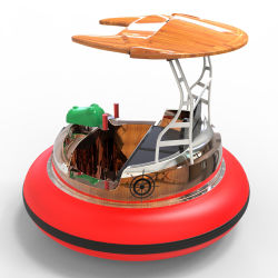 Round Bumper Boat for Water Park
