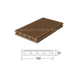 China Supplier WPC Outdoor Decoration Waterproof Wood PE Plastic Decking