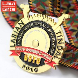 Custom Personalized Design High Quality Metal Gold Sport Medal in Souvenir Gifts Use