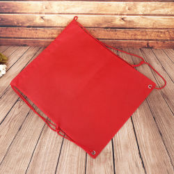 Customized Logo Promotional Non Woven Sports Drawstring Bags