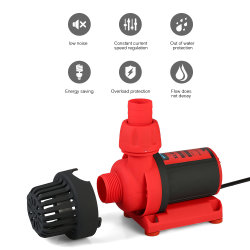 Variable Frequency Centrifugal Submersible Solar DC Brushless Aquarium Water Circulation Pump for Fish Tank, Energy-Saving Pump, OEM & ODM