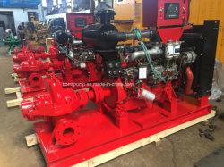Flood Control Big Flow Diesel Engine Split Case Centrifugal Pump