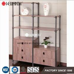 Zhongshan Changsheng Patent Design Livingroom Storage Steel-Wooden Furniture